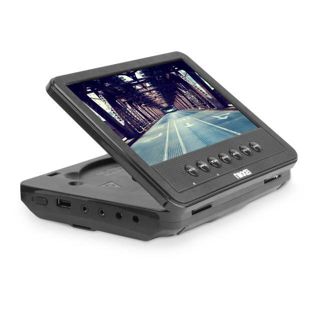 Nikkei NPD720MT Portable DVD speler met 2 master DVD-spelers