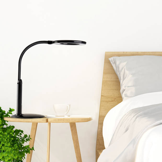 Aigostar Ivy - LED Bureaulamp met kalender - Zwart