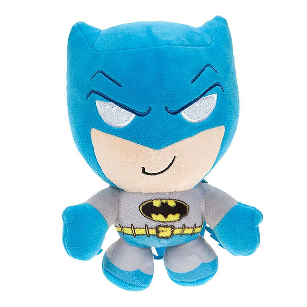 DC Comics knuffel in cadeaubox Batman pluche 20 cm blauw