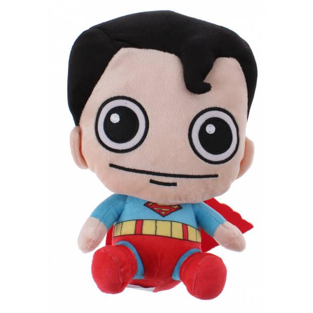 DC Comics Gift-knuffel Superman pluche 15 cm rood/blauw