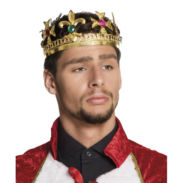 Boland kroon Royal king goud