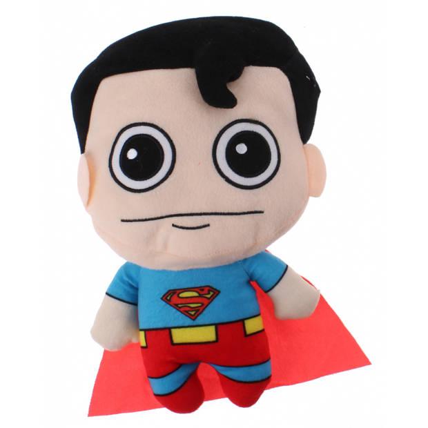 DC Comics knuffel Superman pluche 35 cm rood/blauw