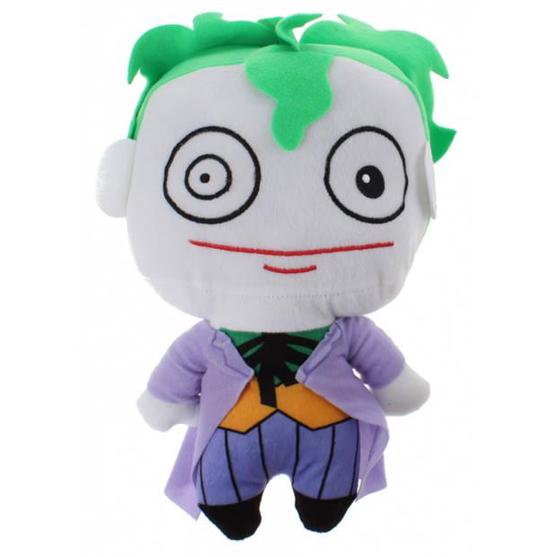 DC Comics knuffel Joker pluche 25 cm paars/wit