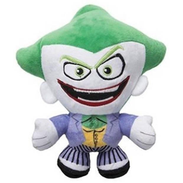 DC Comics knuffel in cadeaubox The Joker pluche 20 cm paars/groen