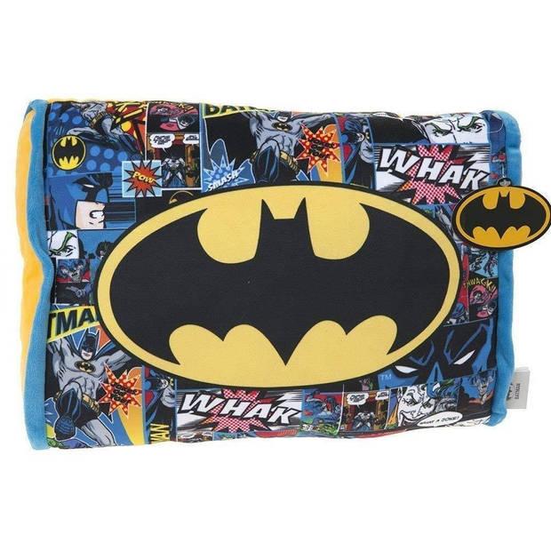 DC Comics kussen Batman35 cm polyester blauw/geel