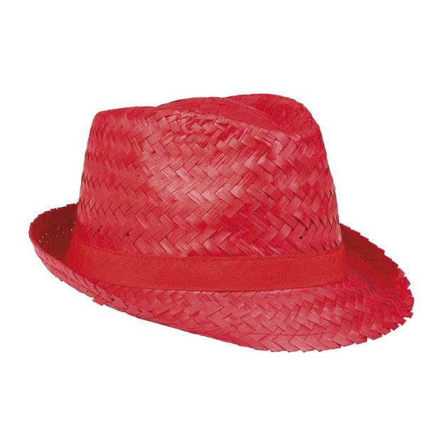 Boland Hoed Aruba rood