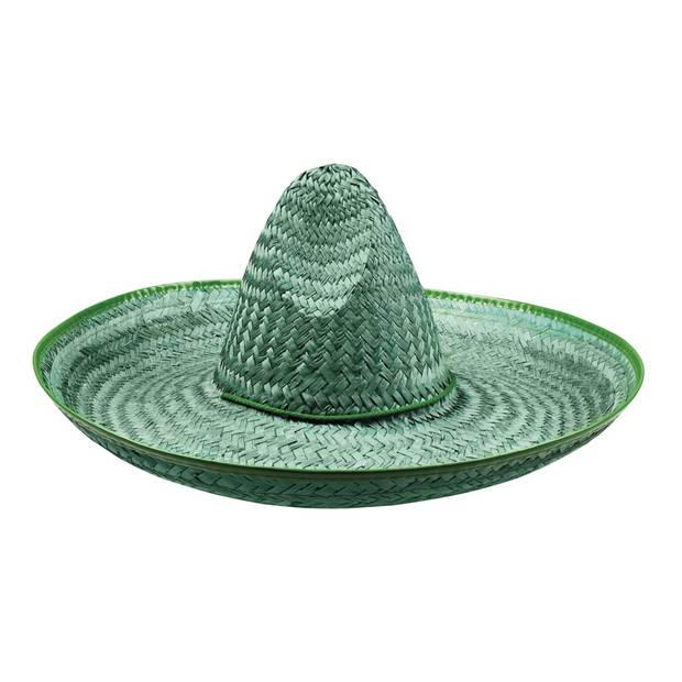 Boland sombrero Santiago groen 50 cm