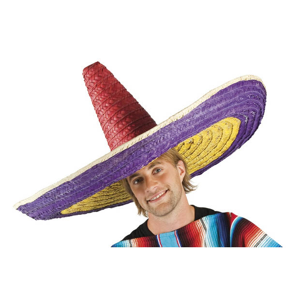 Boland sombrero Zapara veelkleurig 100 cm