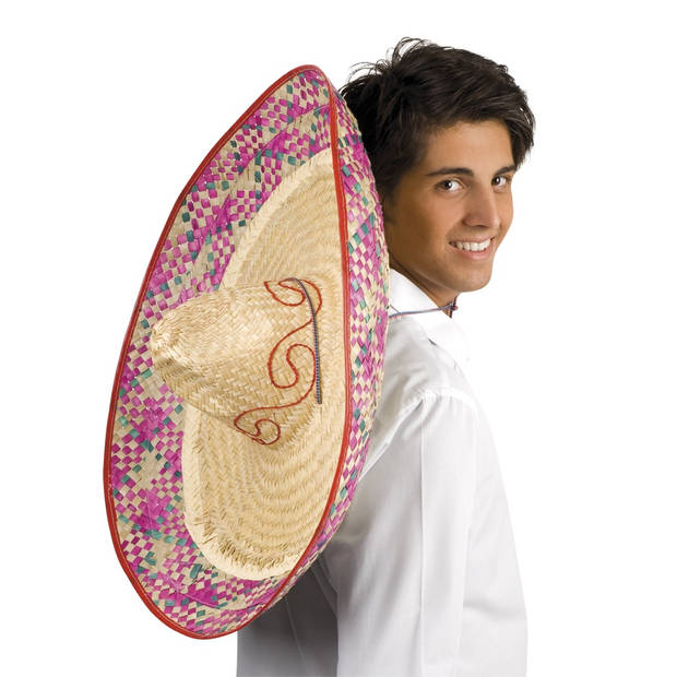 Boland sombrero Enrique rood 70 cm