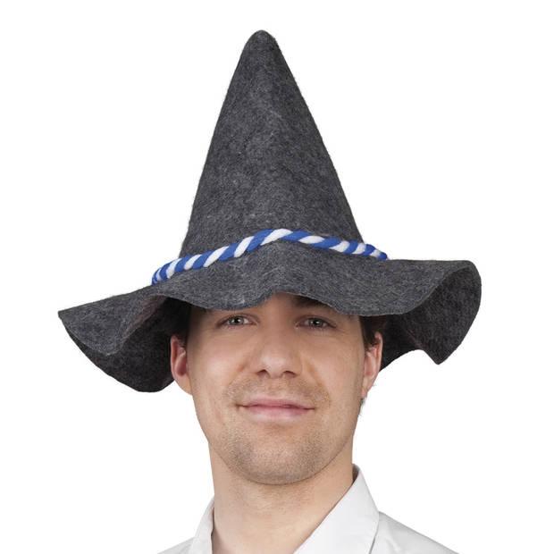 Boland hoed Bavaria blauw/wit groot