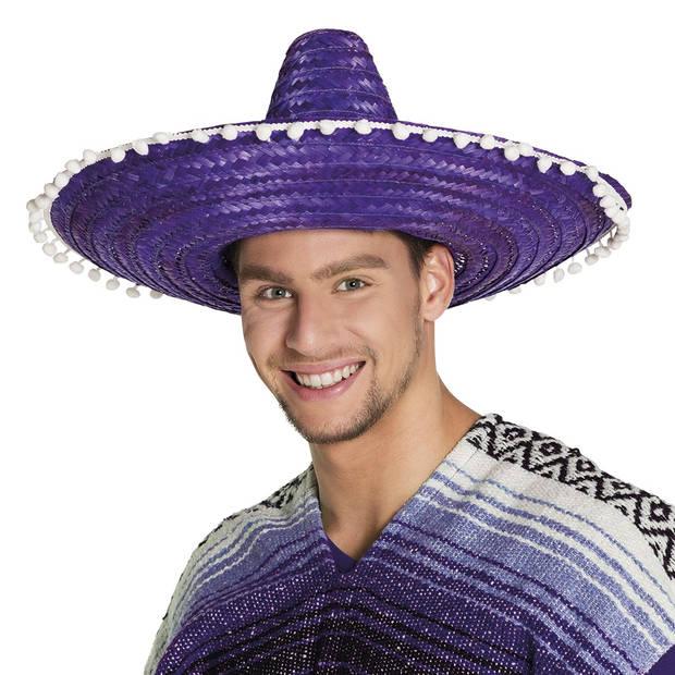 Boland sombrero Fernando paars