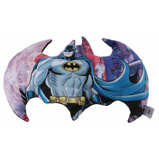 DC Comics kussen Batman 50 cm jongens multicolor/zwart