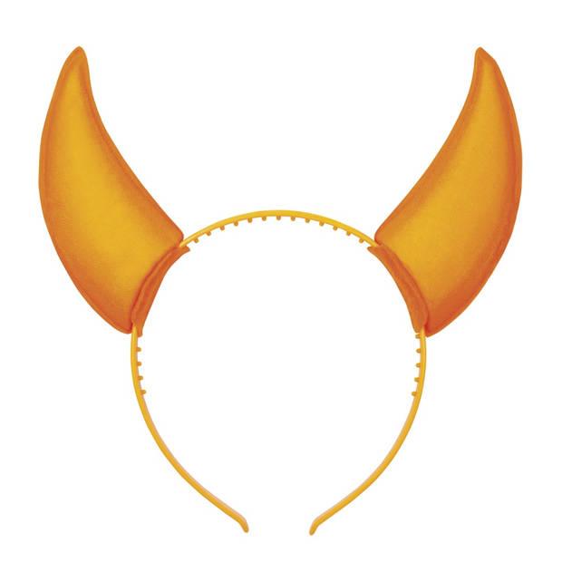 Boland tiara Rave horens oranje