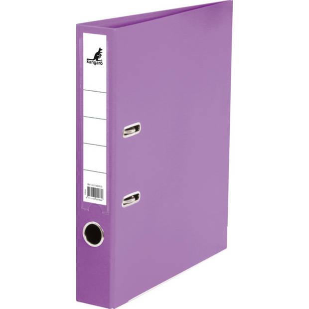 ordner Kangaro A4 2r PP 5cm violet