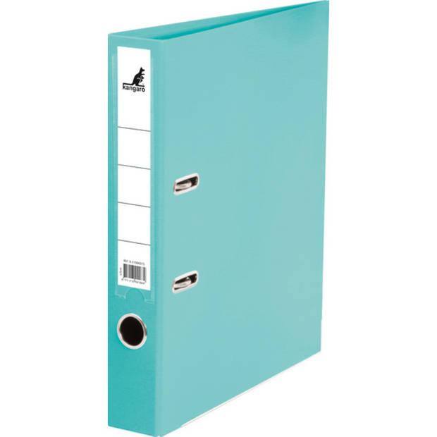 ordner Kangaro A4 2r PP 5cm turquoise