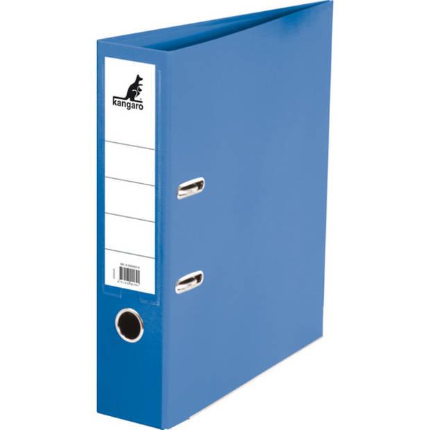 ordner Kangaro A4 2r 75mm PP/ PP blauw