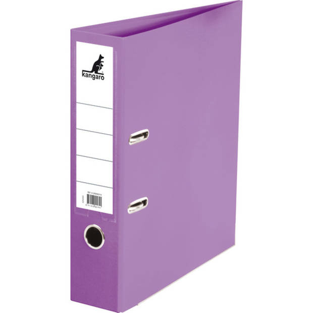 ordner Kangaro A4 2r 75mm PP/ PP violet