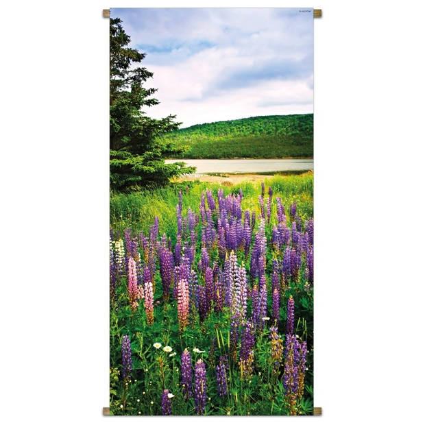 Banner Lupin/Field 85x170cm