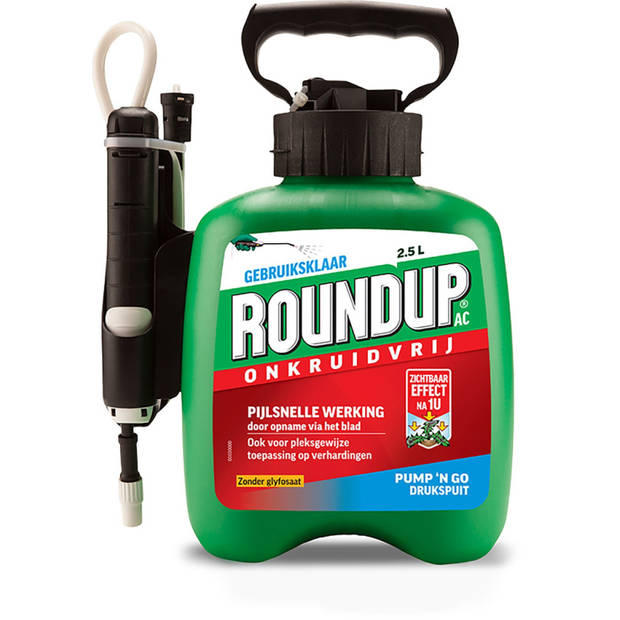 Roundup Natural Kant en Klaar 2,5L Drukspuit
