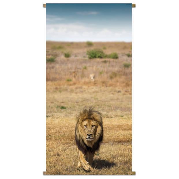 Banner Africa Wild Lion 85x170cm