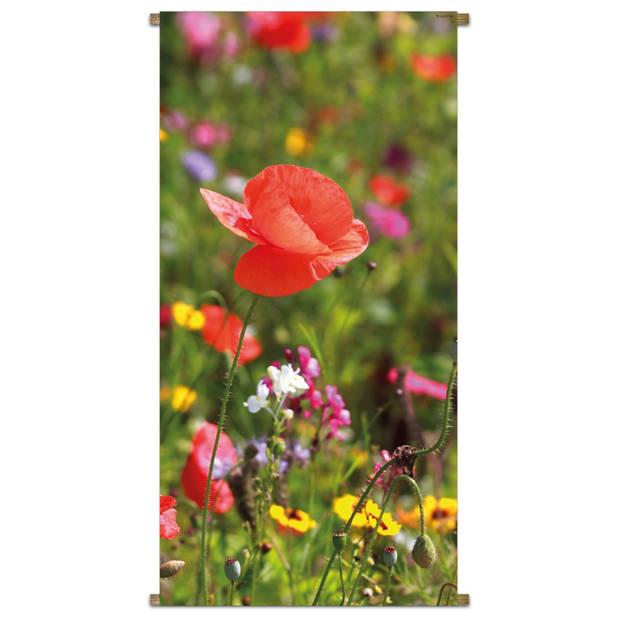 Banner Potpourri Flowers 85x170cm