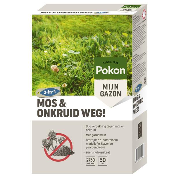 Mos & Onkruid Weg! (3-in-1) 2750gr
