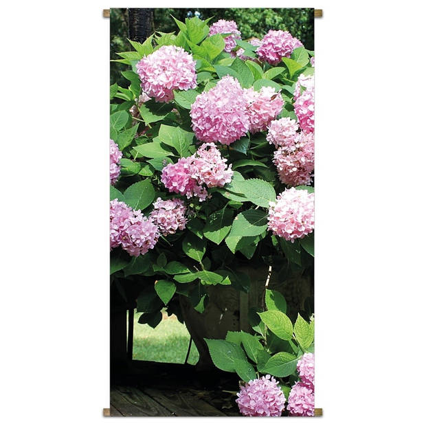 Banner Hydrangea Bush 85x170cm