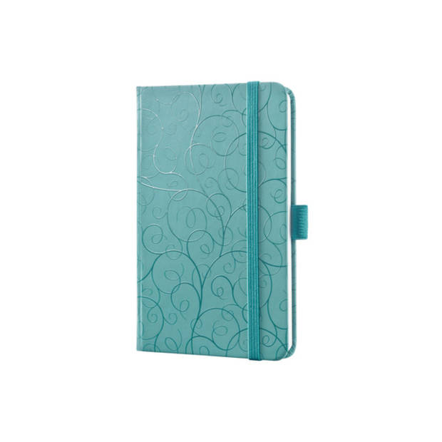 notitieboek Sigel Jolie Beauty A6 hardcover gelinieerd groen