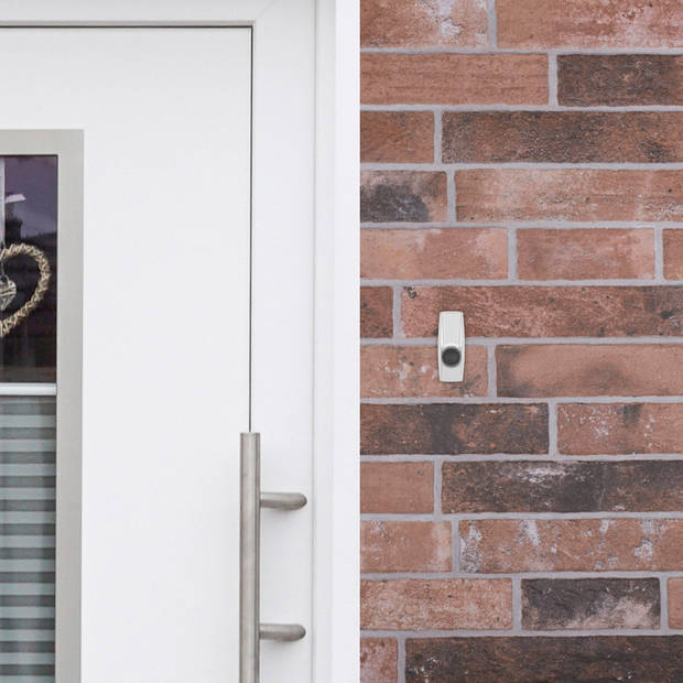 Byron draadloze deurbel set BY206E