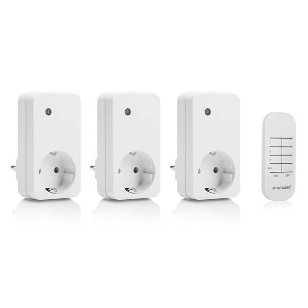 Smartwares 4-delige schakelaarset SH4-99552 - Smarthome Basic