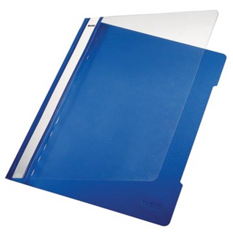 Korting Leitz Snelhechtmap Blauw, Ft A4