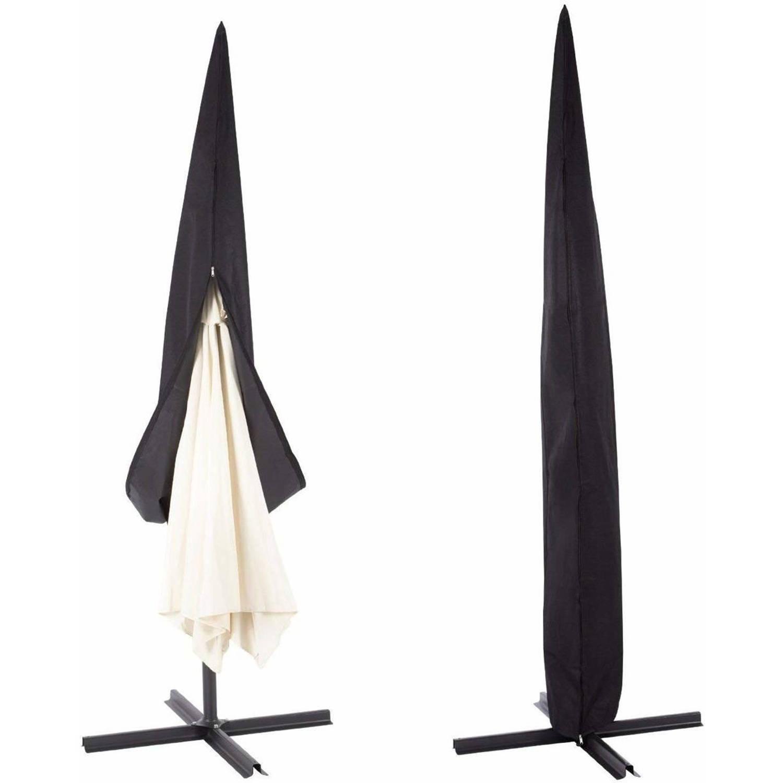 (Zweef) Parasolhoes 265 cm beschermhoes parasol waterdicht 265x50x70x40 cm