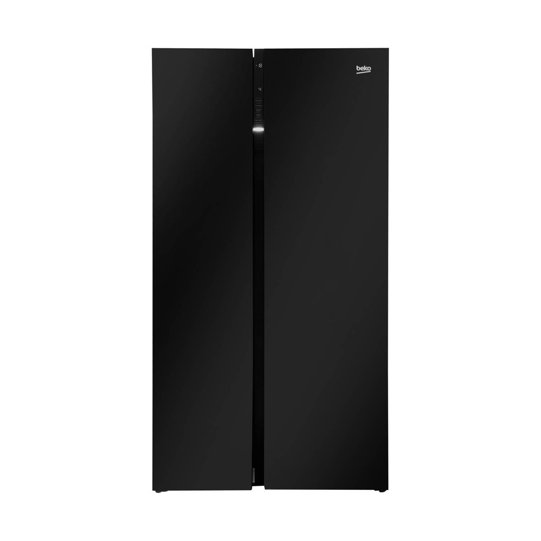 Beko GN163130ZGB amerikaanse koelkasten - Zwart