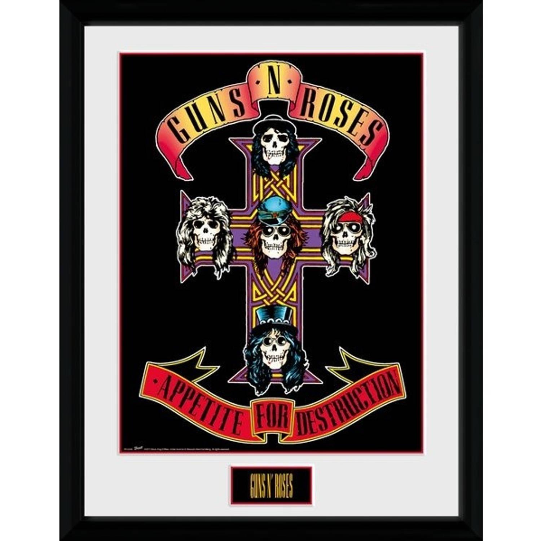 GB Eye poster in lijst Guns 'n Roses Appetite 30 x 40 cm