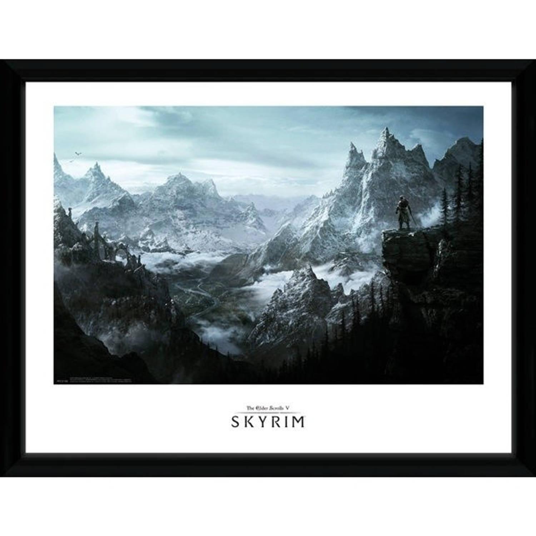 GB Eye poster in lijst Skyrim Vista 30 x 40 cm