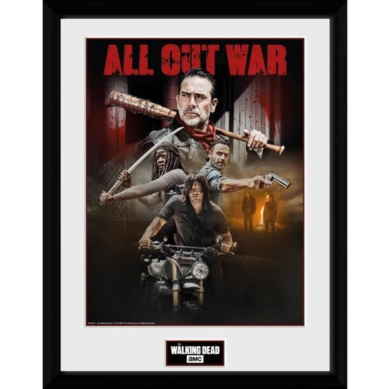 Gb Eye Poster In Lijst The Walking Dead Seizoen 8 30 X 40 Cm