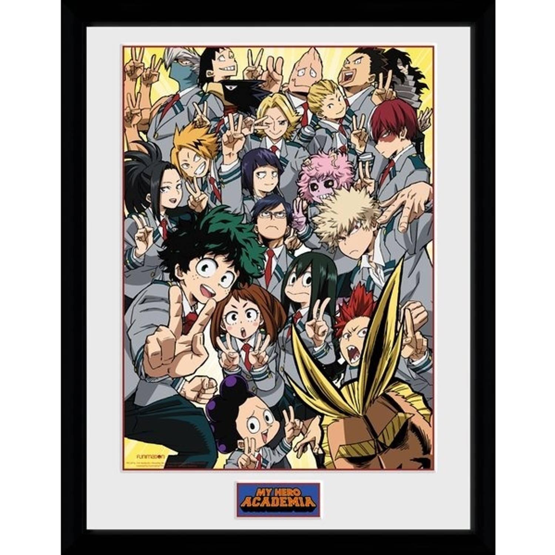 Gb Eye Poster In Lijst My Hero Academia School Group 30 X 40 Cm