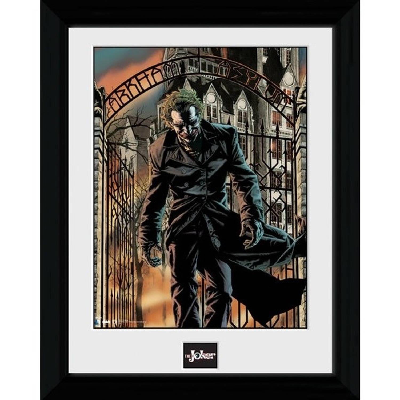 GB Eye poster in lijst Batman Arkhan Asylum 30 x 40 cm