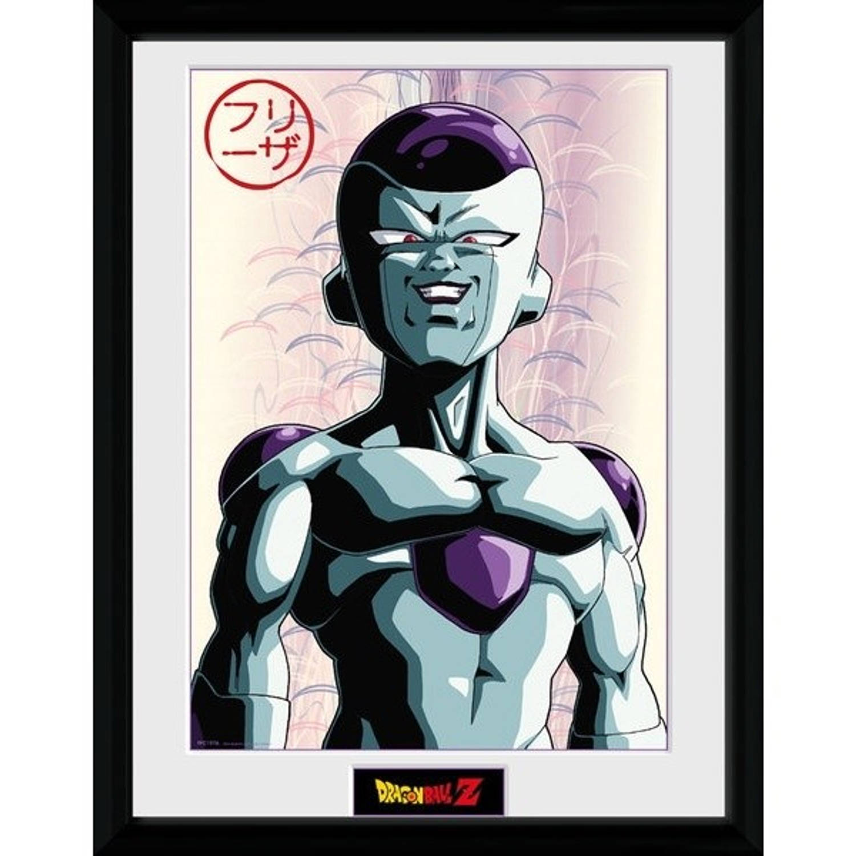 GB Eye poster in lijst Dragonball Z Frieza 30 x 40 cm