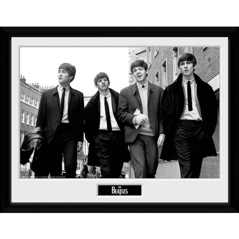 GB Eye poster in lijst The Beatles in Londen 30 x 40 cm