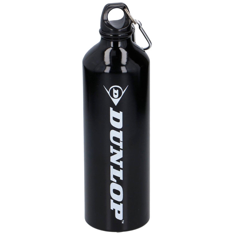 Dunlop Drinkfles Aluminium Zwart 750 Ml