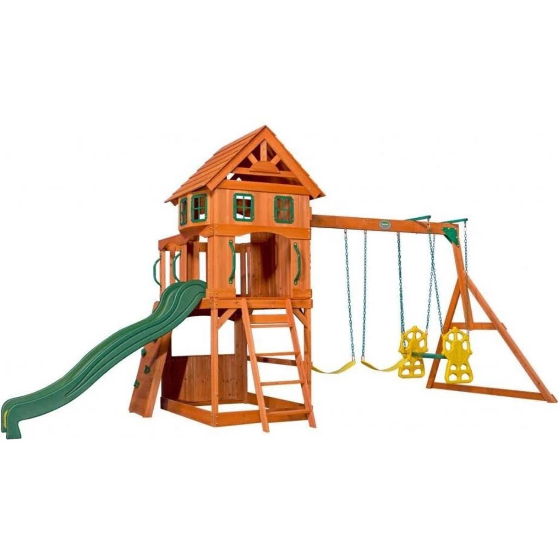 Afbeelding van Backyard Discovery speelhuis Atlantic 551x236x285 cm blank