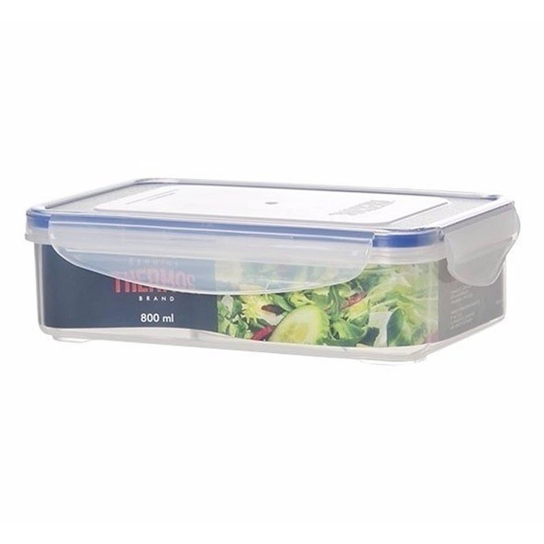 4x stuks Thermos airtight vershoud dozen/boxen 800 ml