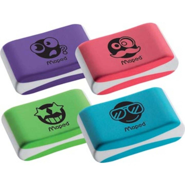 Korting Maped Gum Essentials Soft, Geassorteerde Kleuren