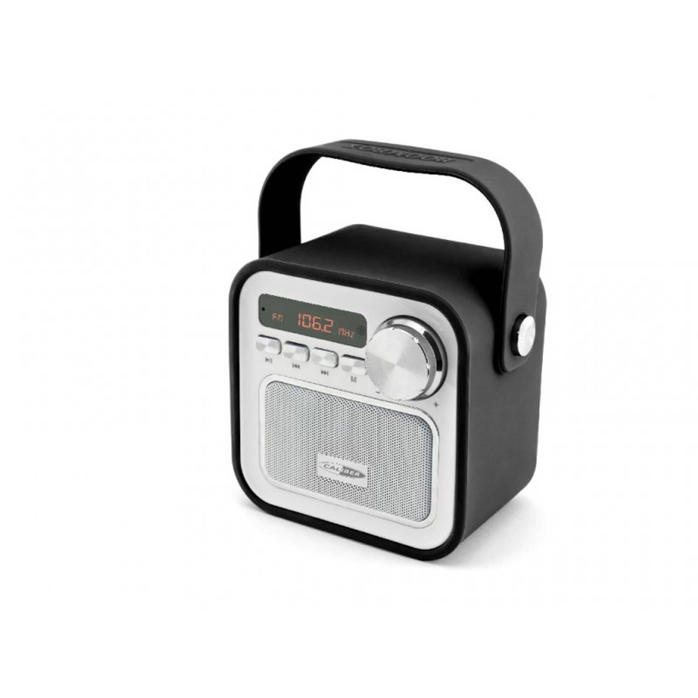 Caliber HPG330BT Draagbare Bluetooth radio met FM en micro-sd poort - Zwart