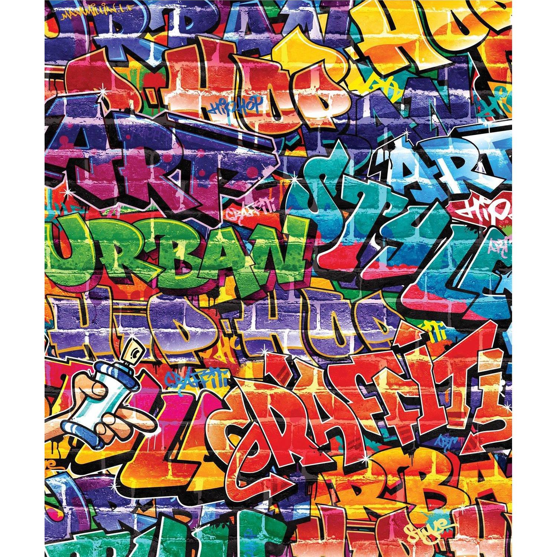 Behang Graffiti Walltastic - 245x203 Cm - Behang Walltastic
