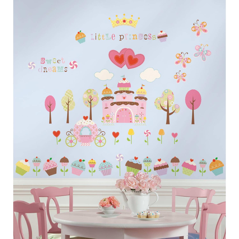 RoomMates Cupcake land met kasteel