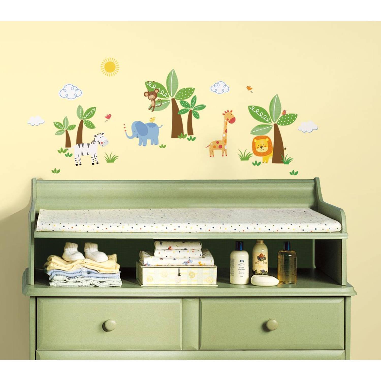 Muursticker RoomMates: Butterflies Glitter