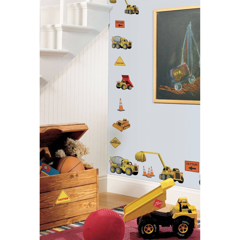 RoomMates muurstickers Onder constructie