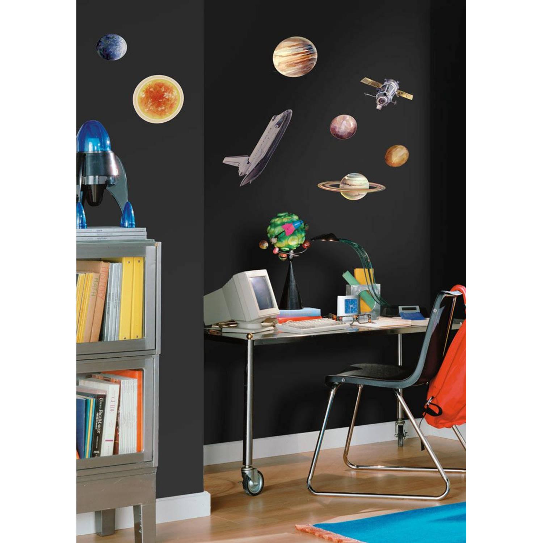 Muursticker Roommates - Space Travel Roommates
